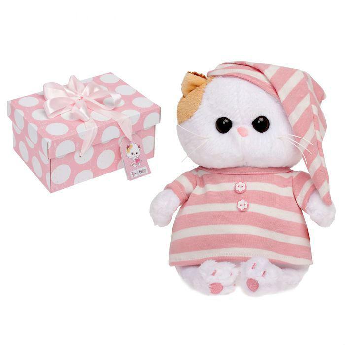 Кошка Ли-Ли BABY в полосатой пижамке 20 см LB-005