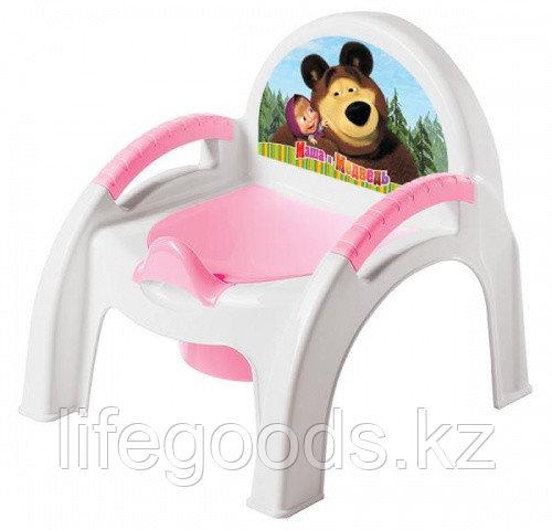 """Горшок-стульчик с аппликацией""""Маша м Медведь"""""""