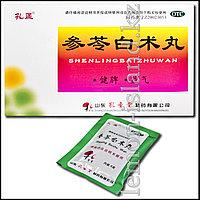 Пилюли Шэнь Лин Бай Чжу Вань (Shen Ling Bai Zhu Wan) для улучшения пищеварения.