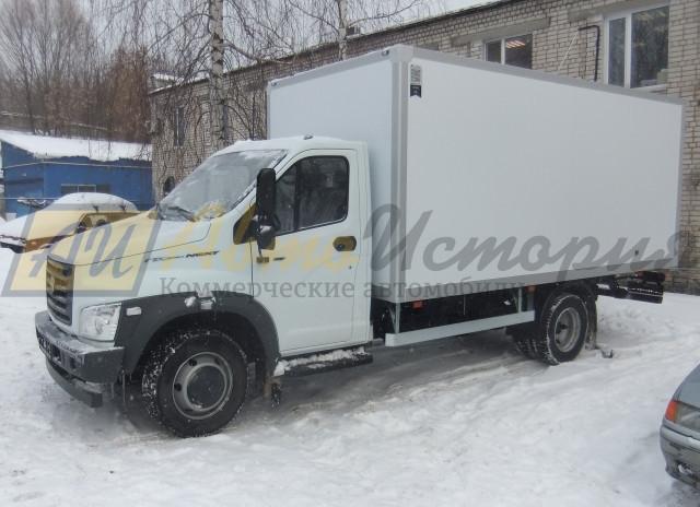 Газон Некст. Изотермический фургон (ППУ) 5,1 м.