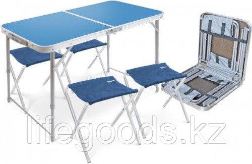 Набор: стол складной+4 стула (складные) ССТ-К