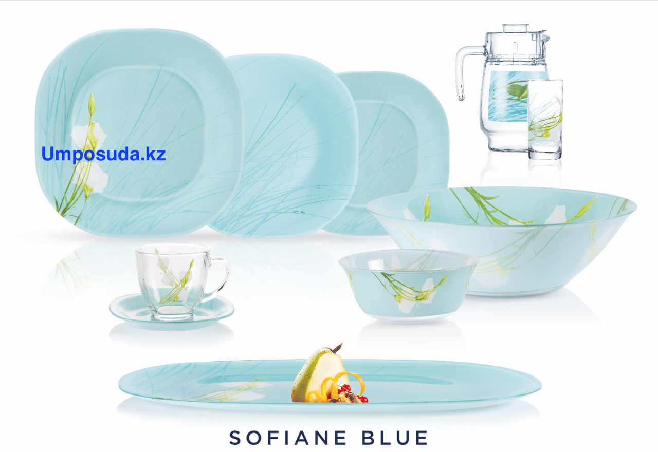 Сервиз столовый Luminarc Sofiane Blue 46 предметов