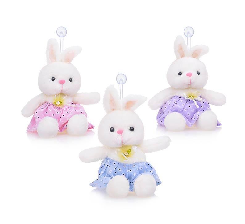 Мягкая игрушка Зайчиха М0133