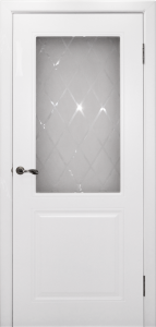 Межкомнатная дверь эмаль- Бриз белая