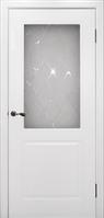 Межкомнатная дверь эмаль- Бриз белая эмаль