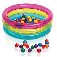 48674 Intex Надувной бассейн с шариками