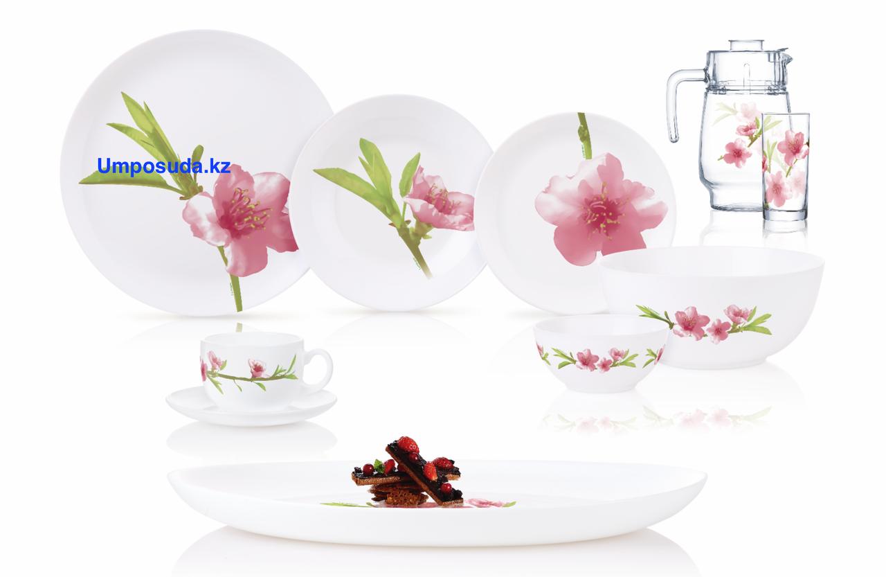 Столовый сервиз Luminarc Diwali Water Color 46 предметов на 6 персон