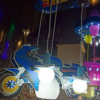 Люстра детская мотоцикл, фото 1