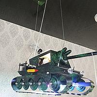 Люстра детская танк, фото 1