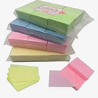 Безворсовые салфетки Nail Wipes цветные (900 шт.).