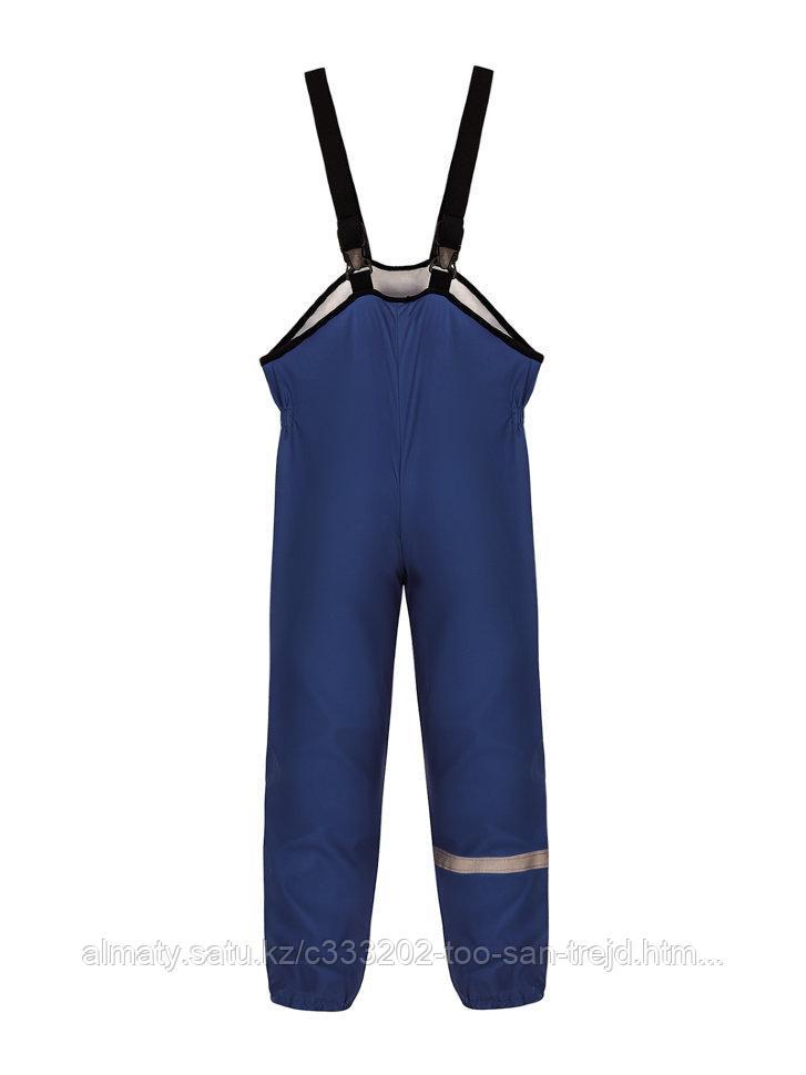 Полукомбинезон, рост 110-116см из текстильного материала, покрытого слоем полиуретана, темно-синий В