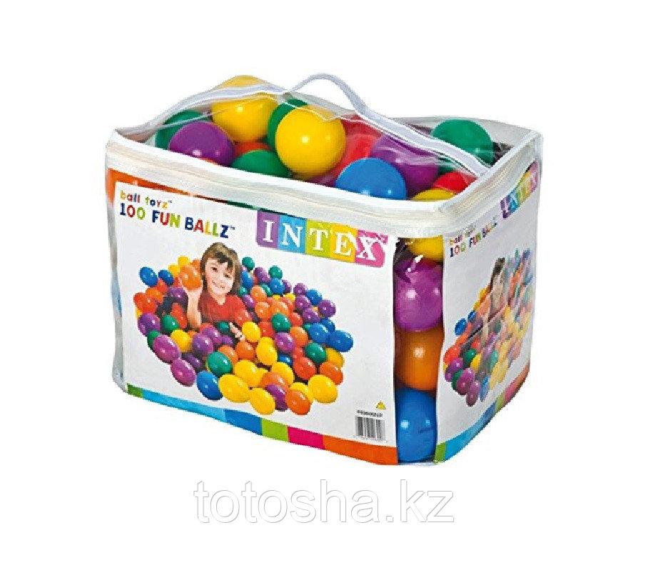 49600 Intex Мячики для сухого бассейна 8 см 100шт