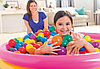 49600 Intex Мячики для сухого бассейна 8 см 100шт, фото 3