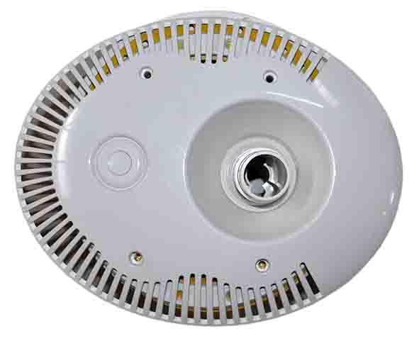 Лицевая панель противотока с закладной и пневмокнопкой