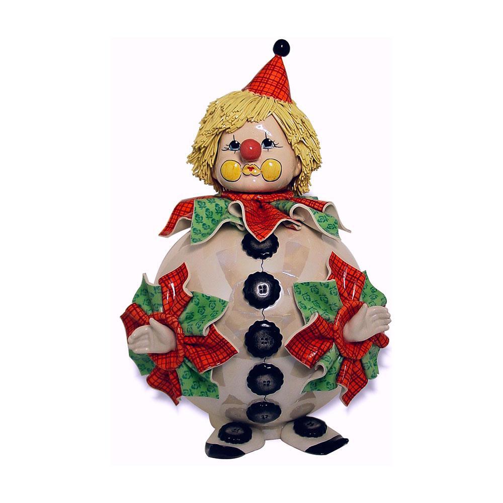 Статуэтка Клоун-копилка. Ручная работа, керамика, Италия