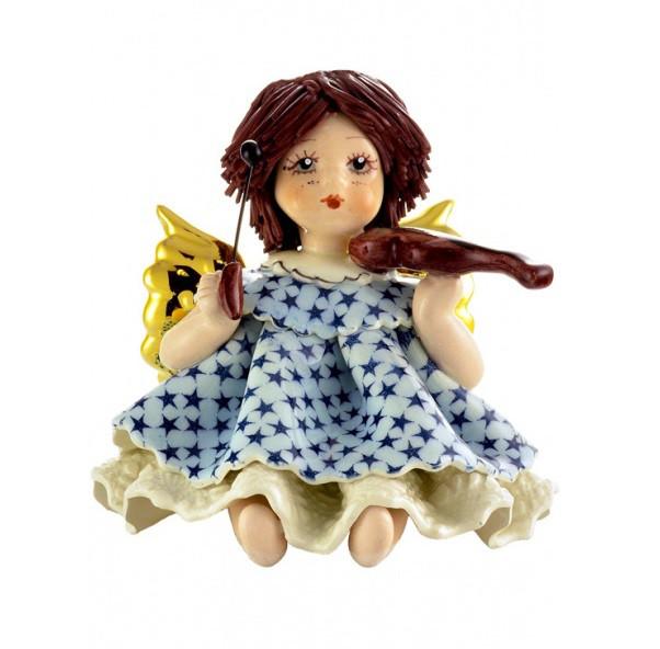 Статуэтка Ангел со скрипкой. Италия, керамика, ручная работа