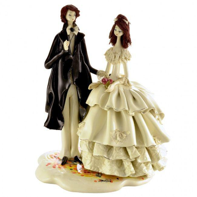 Статуэтка Свадебная пара. Италия, ручная работа