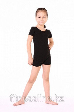 Комбинезон с коротким рукавом для гимнастики Соло