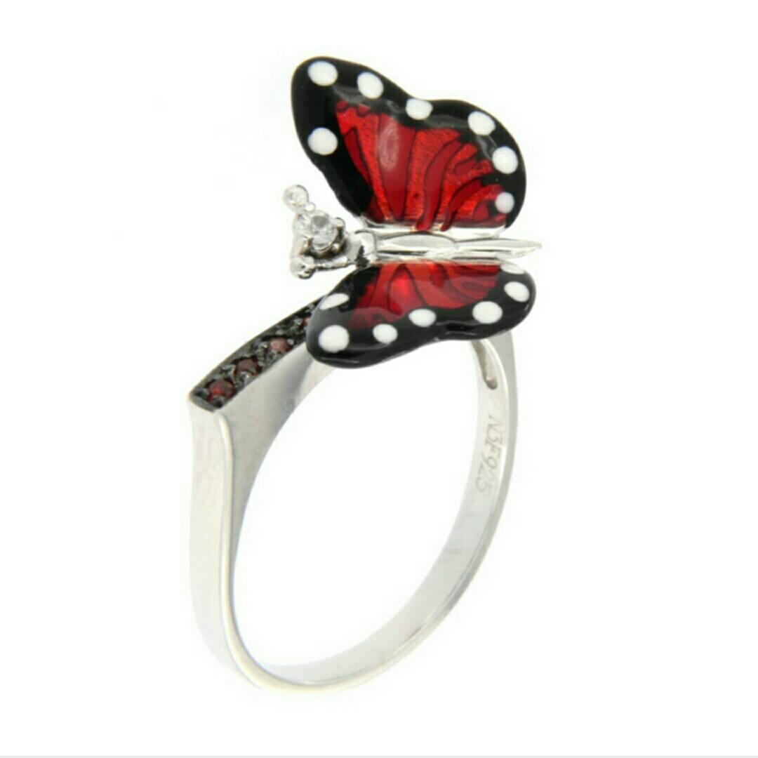 """Кольцо """"Monarch Batterfly"""" от ROBERTO BRAVO."""