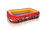 Надувной детский бассейн Cars 262х175х56 см , 57478 Intex, фото 2