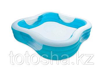 57495 Intex Надувной семейный бассейн 229 x 229 х 56 см.