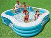 57495 Intex Надувной семейный бассейн 229 x 229 х 56 см., фото 4