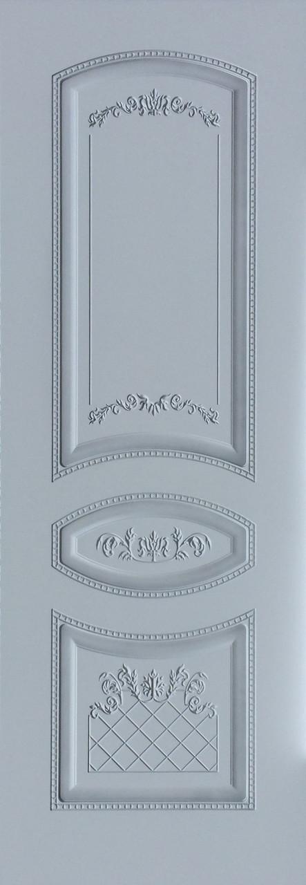 Межкомнатные двери Танго-эмаль серебро