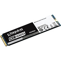 SSD-накопитель Kingston KC1000 240Gb, NVMe, M2, MLC, SKC1000/240G