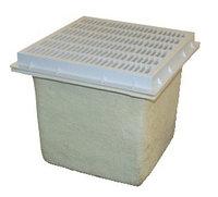Донный трап квадратной формы 10″х10″ (без выходных отверстий), фото 1