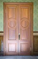 Дверь стальная облагороженная Люкс