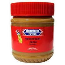 Паста арахисовая Американ Фреш кремовая 340 грамм