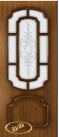 Межкомнатные шпонированные двери Румакс орех