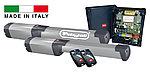 Привод распашных ворот PHOBOS KIT BT A25  (створка до 2,5 м., масса 400кг.) в комплекте. BFT-Италия