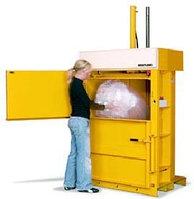 Пресс для мусора B 3 однокамерный вертикальный