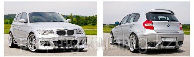 Обвес Rieger на BMW 1-series E87