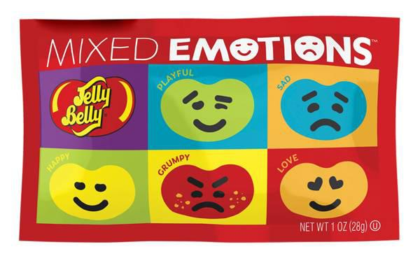 "Драже жевательное ""Emotion"" 28гр х 30шт (пакет) /Jelly Belly/"