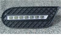 Рамки в бампер с ходовыми огнями LED DRL на BMW E46 M3, фото 1