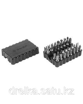Набор бит для шуруповерта ЗУБР 26046-H33, биты специальные, с магнитным адаптером, хромомолибденовая сталь