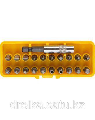 Набор бит для шуруповерта STAYER 2-26087-H21, биты с адаптером в пластмассовом боксе, 21 предмет