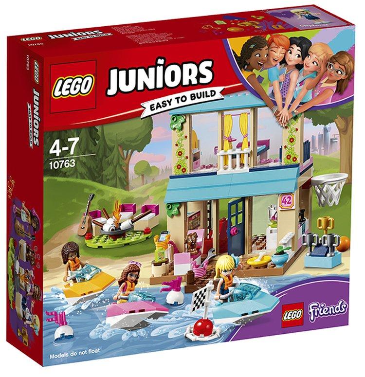 10763 Lego Juniors Домик Стефани у Озера, Лего Джуниорс