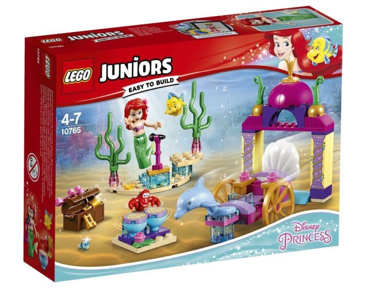 10765 Lego Juniors Подводный концерт Ариэль, Лего Джуниорс