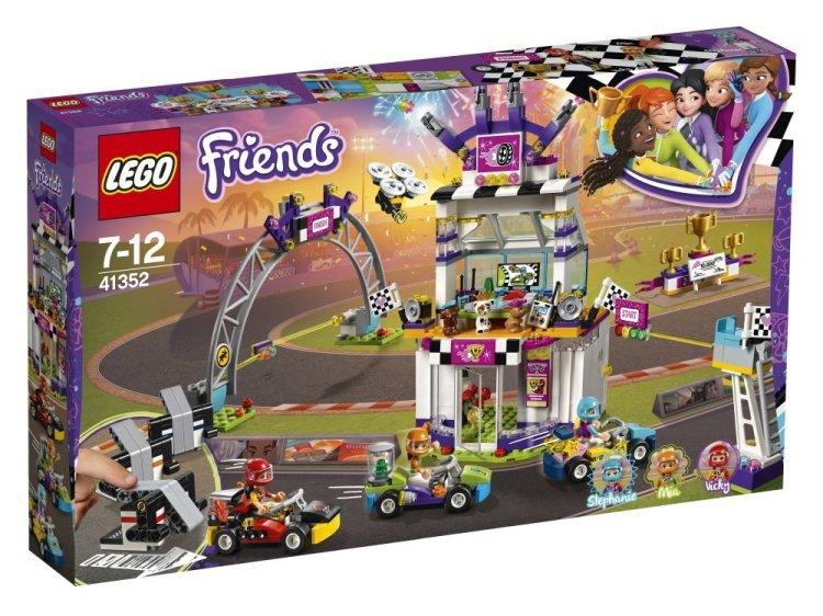 41352 Lego Friends Большая гонка, Лего Подружки