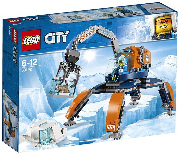 60192 Lego City Арктическая экспедиция Арктический вездеход, Лего Город Сити