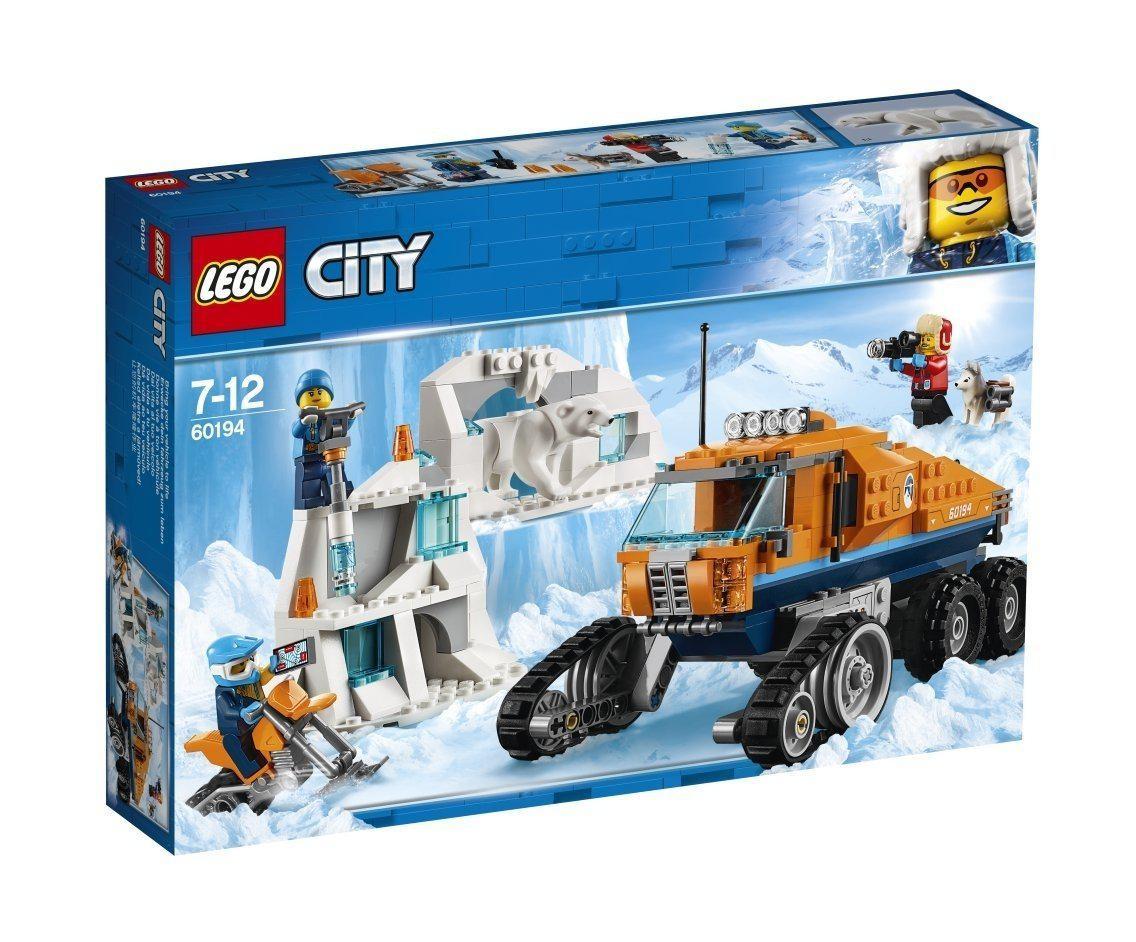 60194 Lego City Арктическая экспедиция Грузовик ледовой разведки, Лего Город Сити