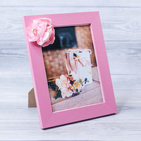 Фоторамка 'Особенный подарок' 15 x 20 см, с цветочным декором