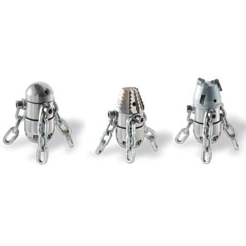 Роторные цепные насадки с разными типами головок