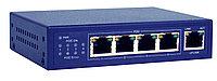 PoE коммутатор 4 порта 100М IEEE802.3af