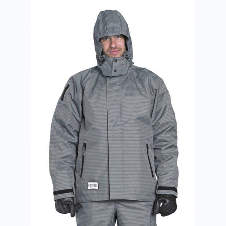 Защитная куртка с капюшоном TST ProOperator. Защита Спереди. Уровень защиты 5/5/2