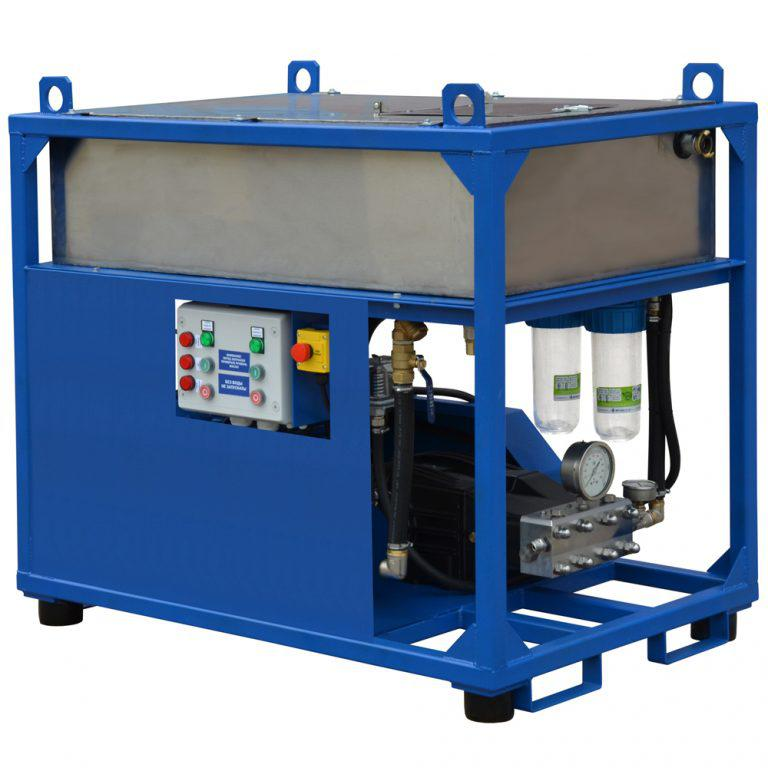 Серия АВД Посейдон 30 кВт (500-1000 бар) в исполнении CUBE