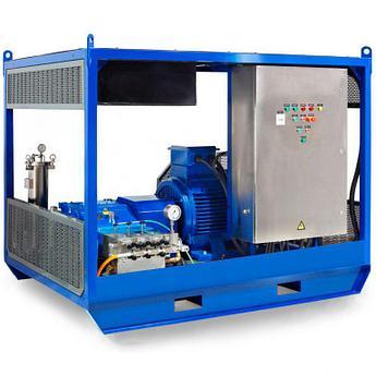 Серия высоконапорных аппаратов Посейдон E75 (500-2500 бар) в исполнении Cube